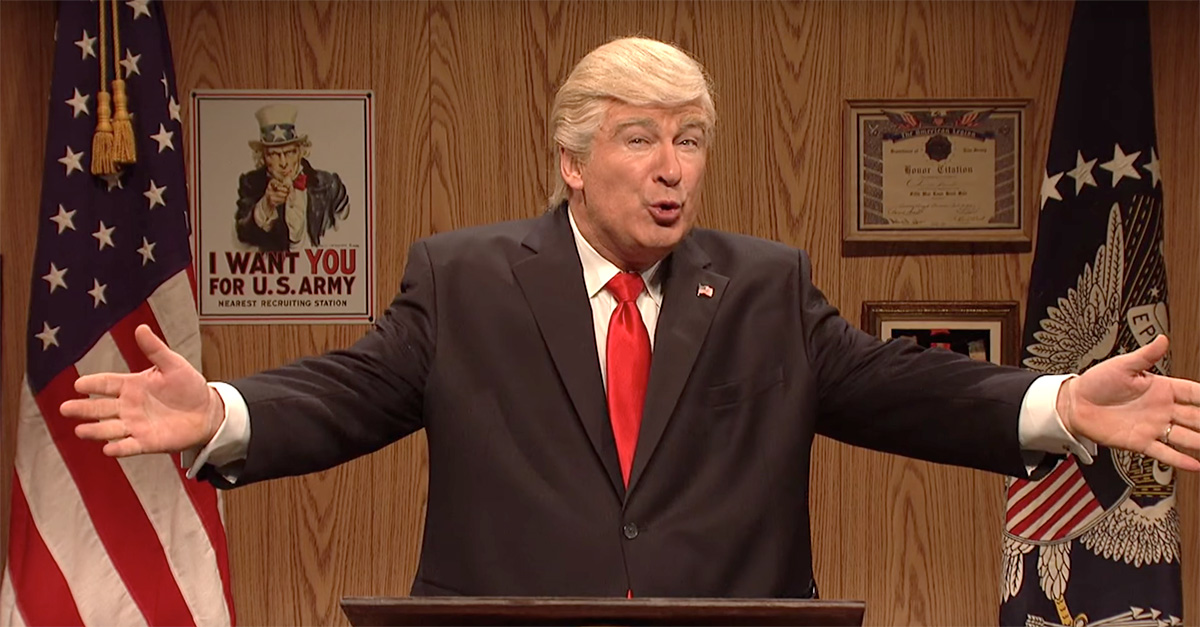 "President Trump just wants to feel his voters' love again on ""SNL"""
