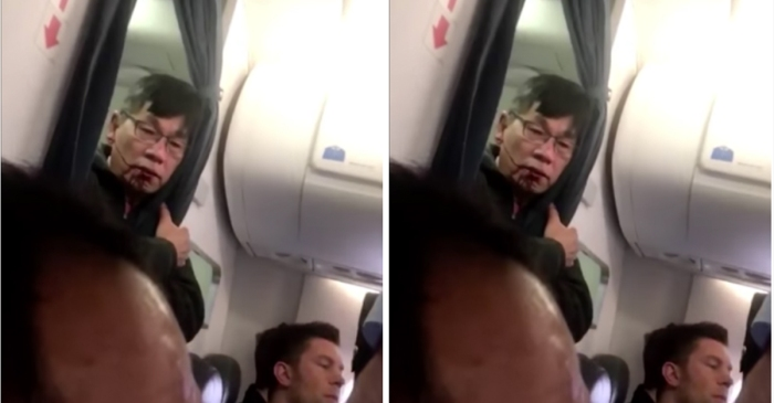 New video shows what went down moments before a doctor was dragged off a United flight