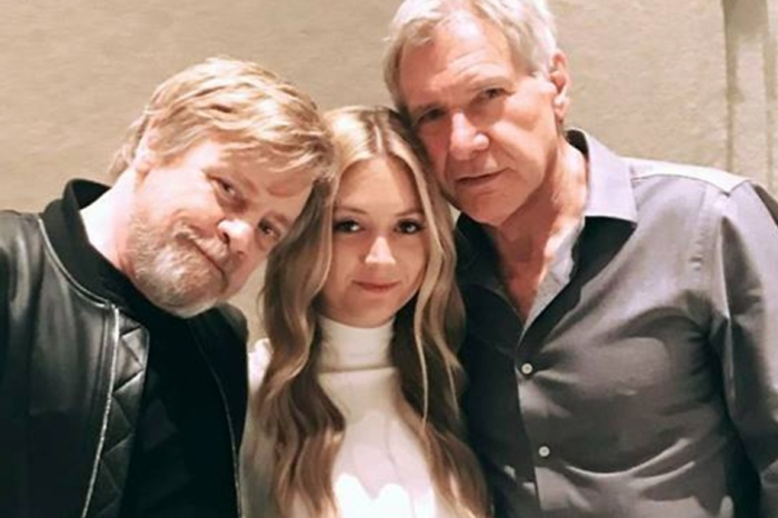 """Star Wars"" icons honor Carrie Fisher and take a snap with her loving daughter"