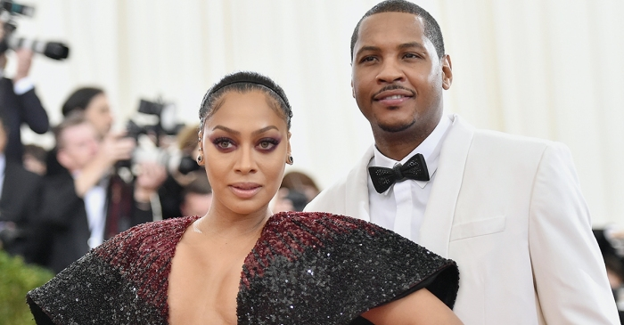 """They might be separated, but La La and Carmelo Anthony are not divorcing """"right now"""""""