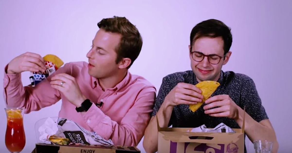 Things got weird when these guys got drunk and decided to rate the best places for late night munchies
