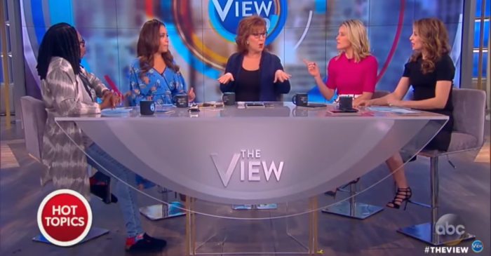 "Some of ""The View"" co-hosts had issues with the way Bethune-Cookman students reacted to Betsy DeVos"