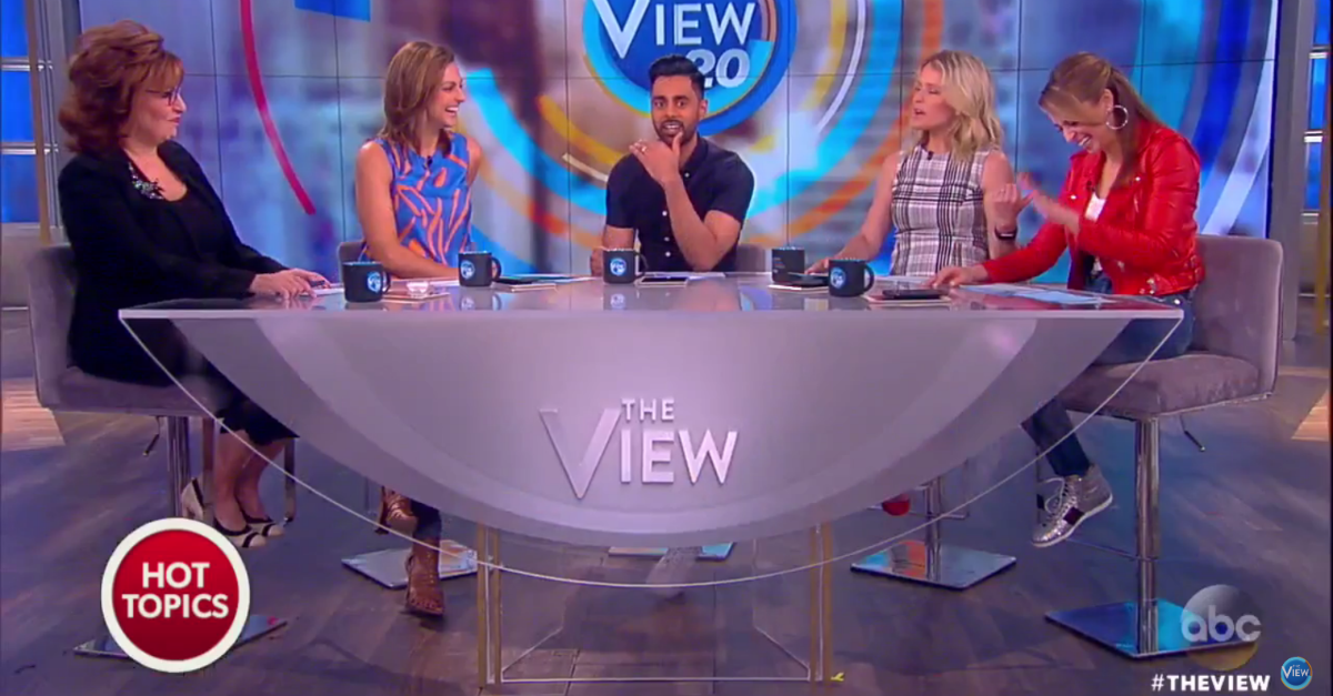 """The View"" has some theories about President Trump's interview after he fired FBI Director James Comey"