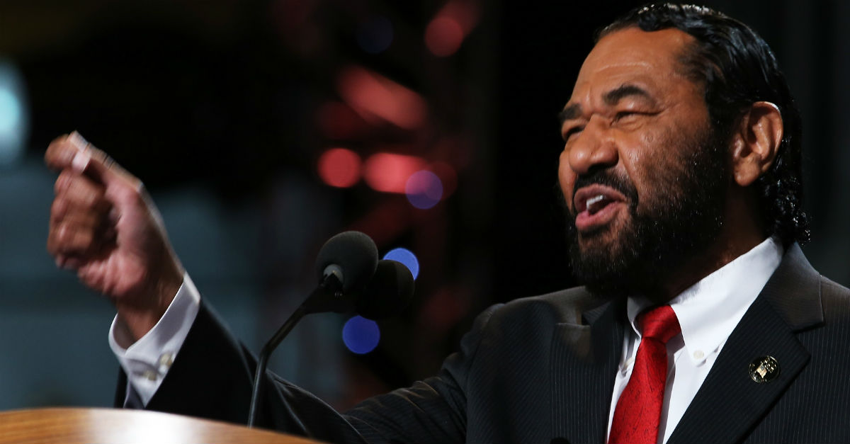 Houston Congressman Al Green vows to bring Trump impeachment vote to the House floor next week