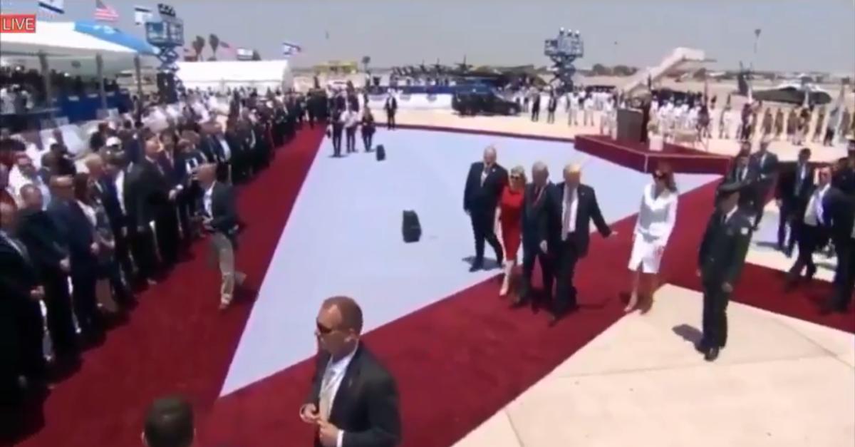 Melania Trump slapping the president's hand away was heard 'round the world
