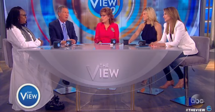 "Now there's a compilation of Melania Trump rejecting the president's advances and ""The View"" loves it"