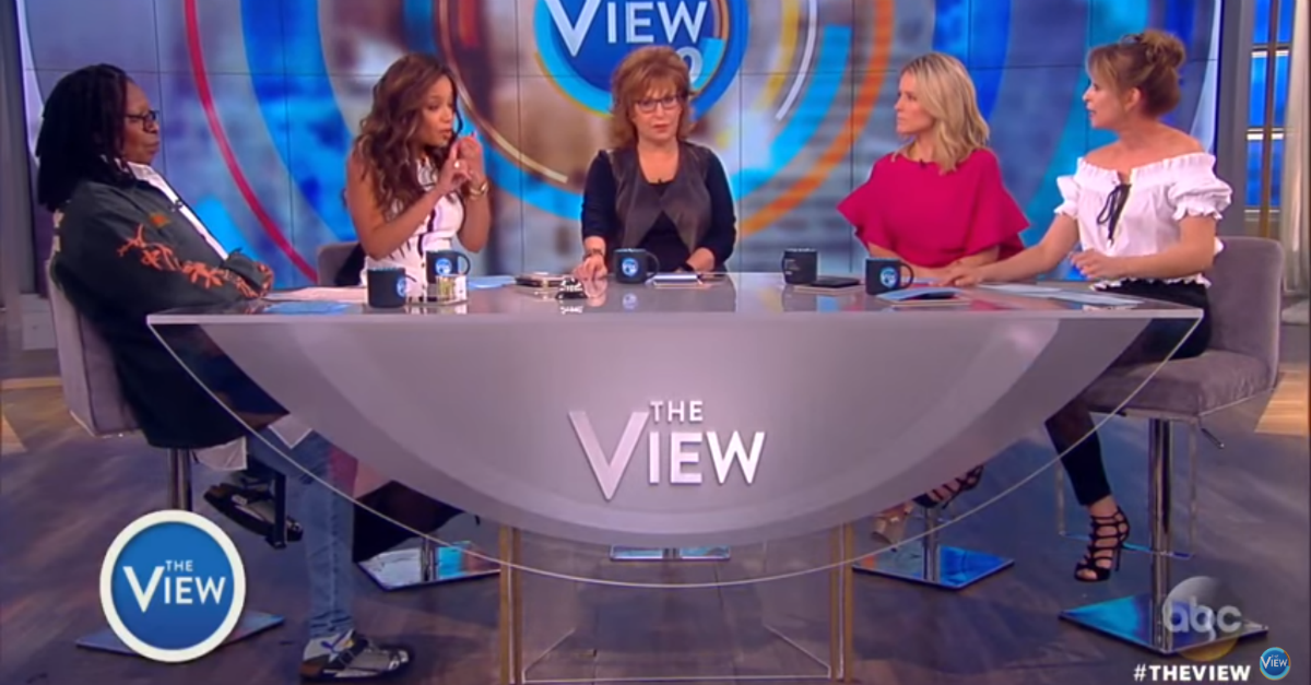 "Tensions built and tables turned when the ladies of ""The View"" argued over why Hillary Clinton lost"