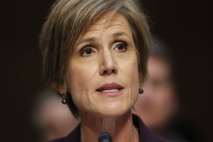 The most shocking revelation from that Sally Yates hearing had nothing to do with Mike Flynn