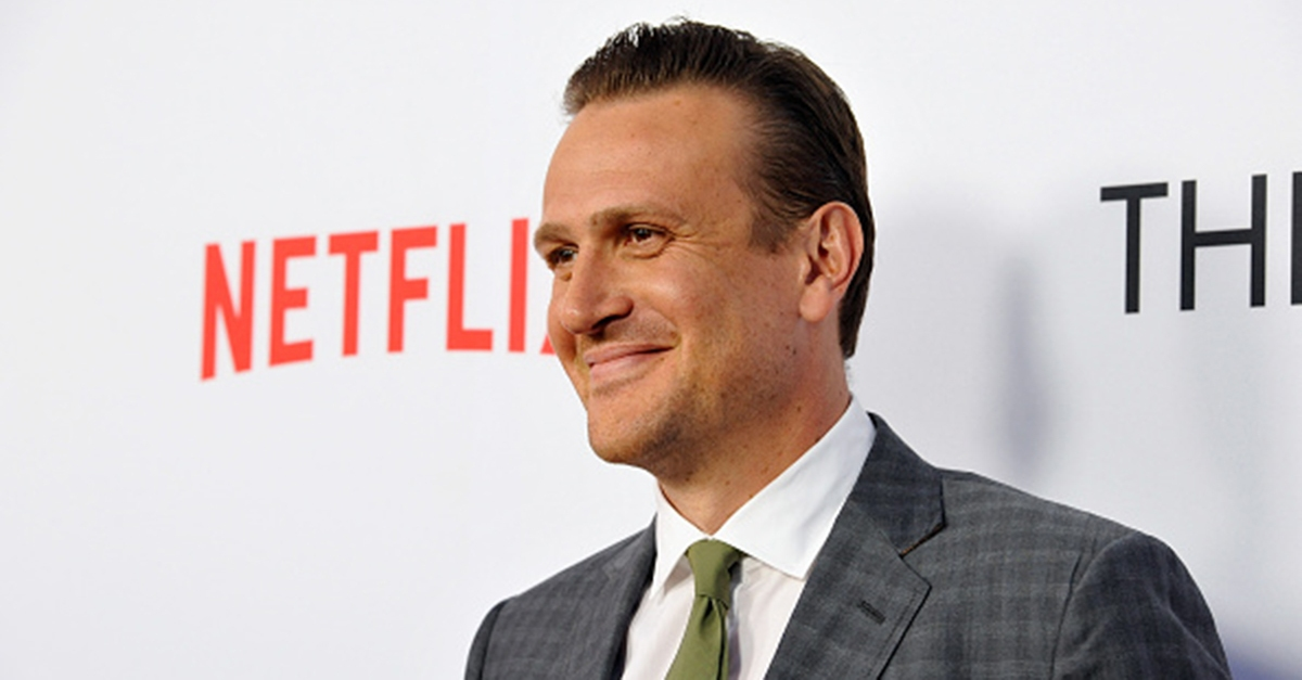 Jason Segel's coffee run gets a little dirtier than expected