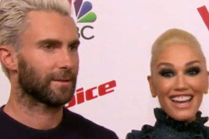 Gwen Stefani was shocked over Adam Levine's dirty remark about Blake Shelton's privates