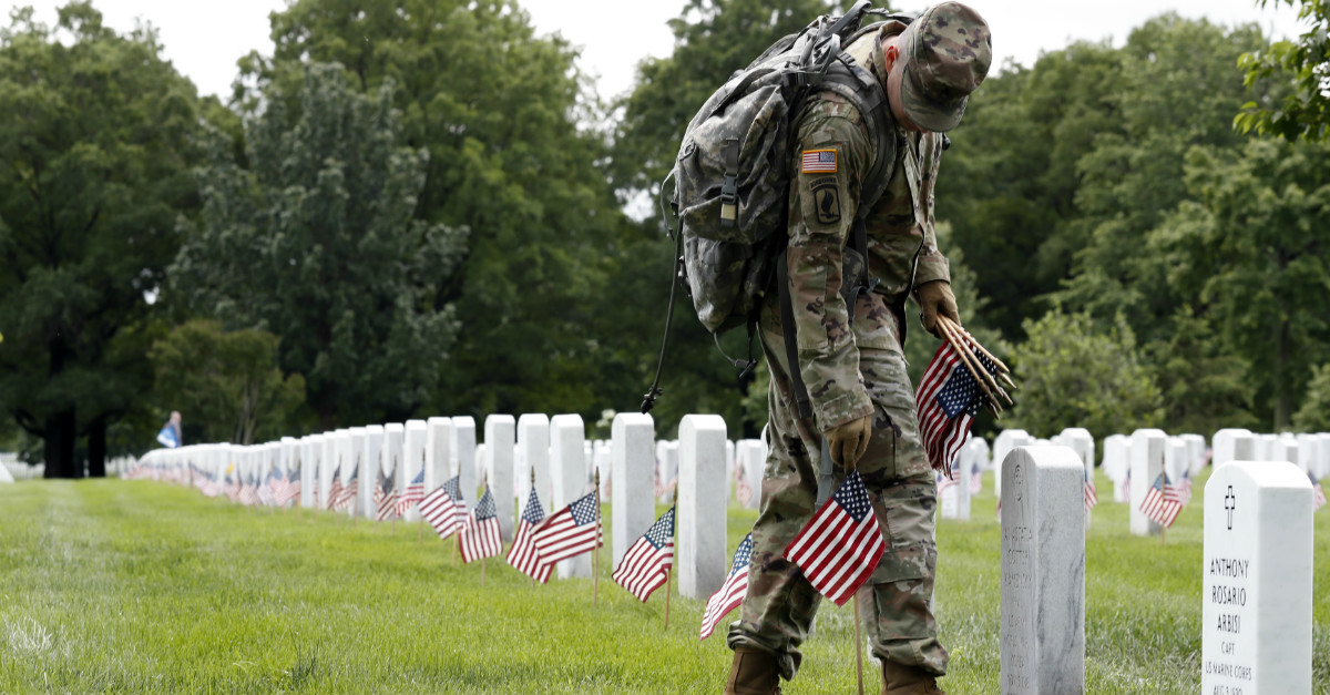 On Memorial Day we remember our fallen soldiers, but shouldn't we do more to remember them every day?