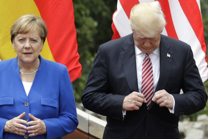 Are U.S.-German relations going down the toilet under President Trump?