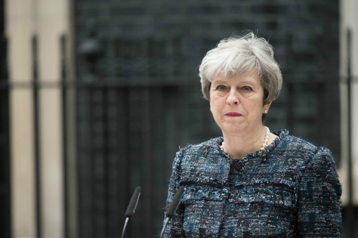 As she plunges in the polls, Britain's prime minister shows she's no Margaret Thatcher