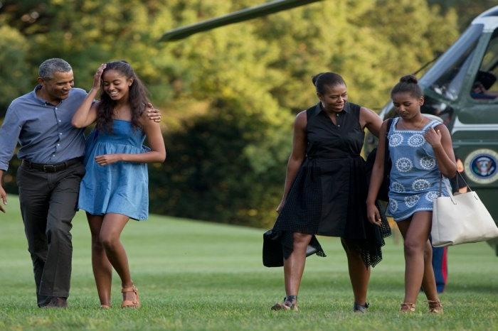 Michelle Obama just shared how Sasha and Malia spent their last night in the White House