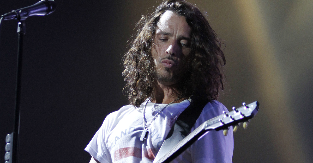 "A friend of Chris Cornell paid tribute to him with a touching performance on ""Jimmy Kimmel Live"""