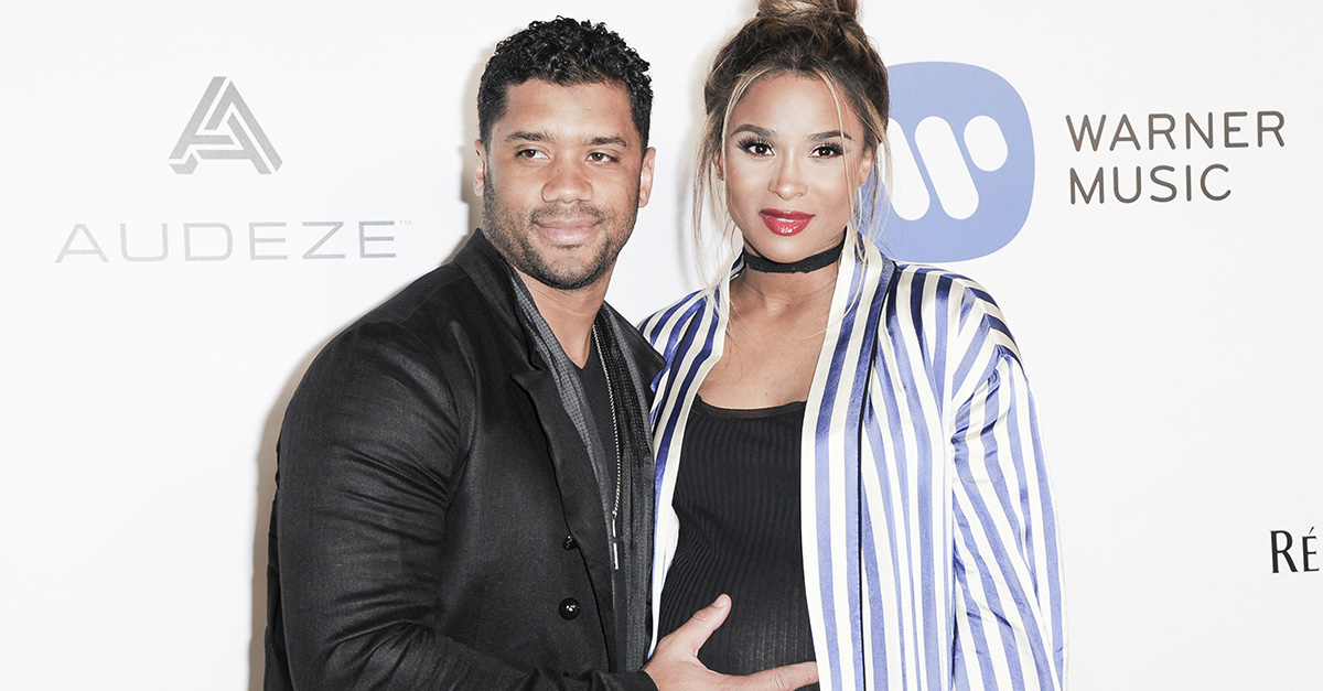 Singer Ciara shared a sweet family photo just one week after welcoming daughter Sienna