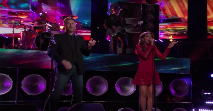 """Blake Shelton collaborates with a """"The Voice"""" favorite for an electric performance"""