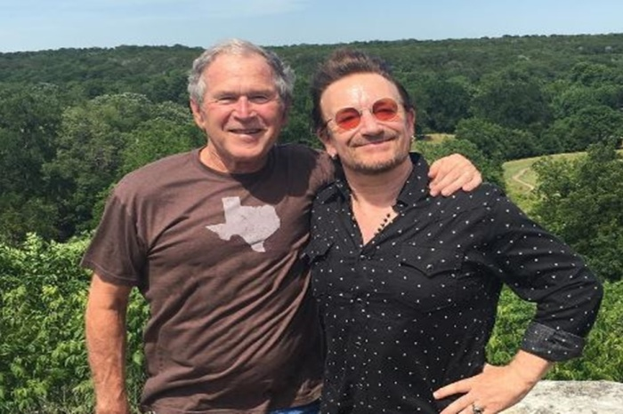 George W. Bush and U2's Bono are buddies for a reason that might surprise you