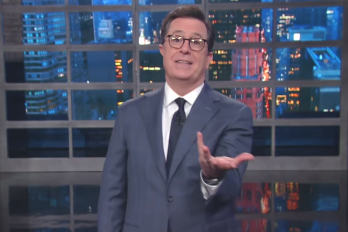 Stephen Colbert didn't mince words after reports that Trump leaked classified information to Russia