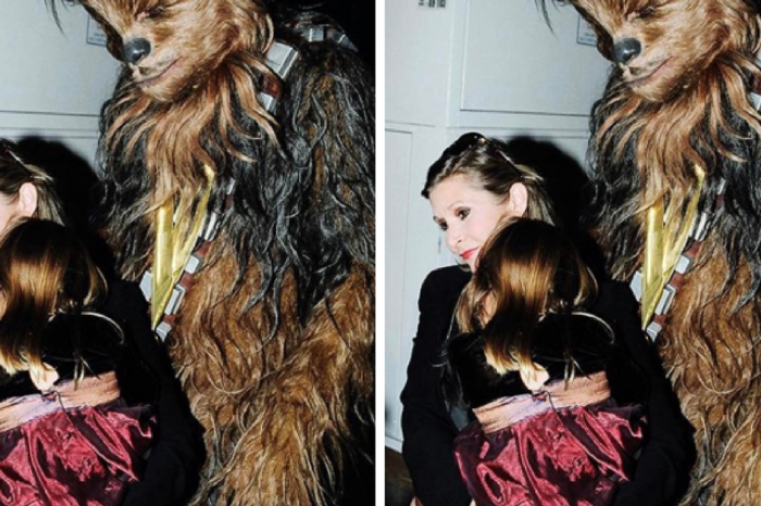 """In honor of """"Star Wars Day,"""" Billie Lourd shares a sweet throwback picture of her and mom Carrie Fisher"""
