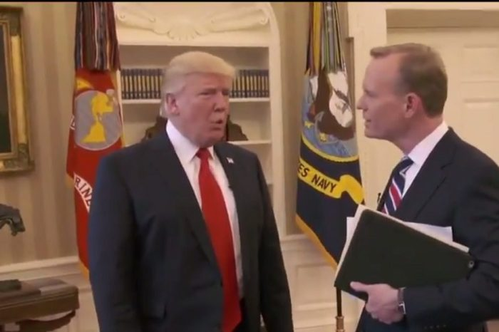 Trump cuts off CBS interview when asked to defend wiretapping claims