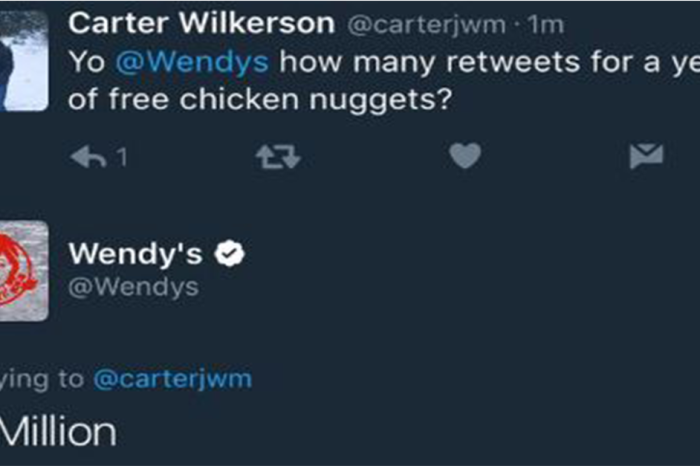 The kid on a quest for free Wendy's nuggets now has the most-retweeted tweet ever