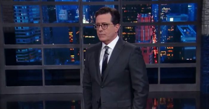 Please don't clap: Stephen Colbert was confused when his audience cheered Comey's firing