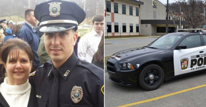 A West Virginia cop was fired for not shooting a young man and now he's suing