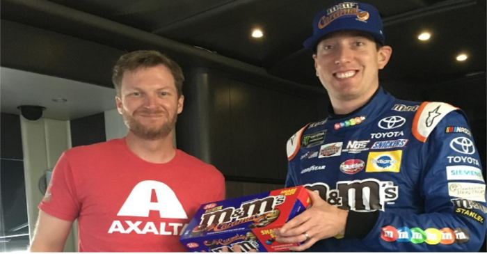 Check out the Dale Earnhardt Jr. picture that's causing an uproar