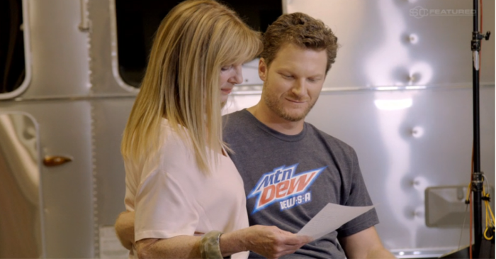 Dale Earnhardt Jr. gets emotional over this Mother's Day message to his mom