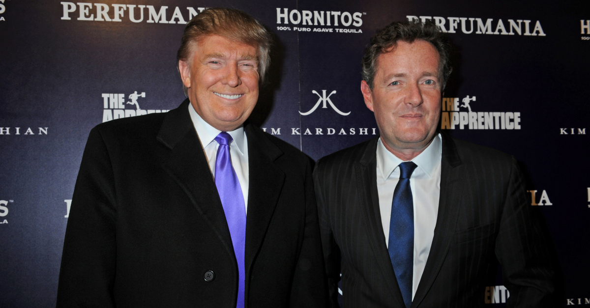 After publicly trashing Ariana Grande, Piers Morgan has had a change of heart
