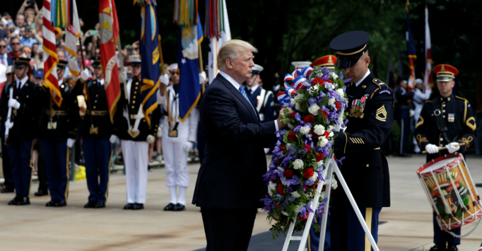 On Memorial Day, President Trump honors those who have made the ultimate sacrifice
