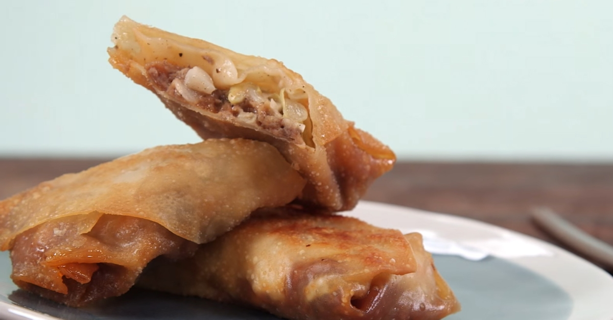 Just wait 'til you see these Southern egg rolls — they might become your favorite way to eat BBQ