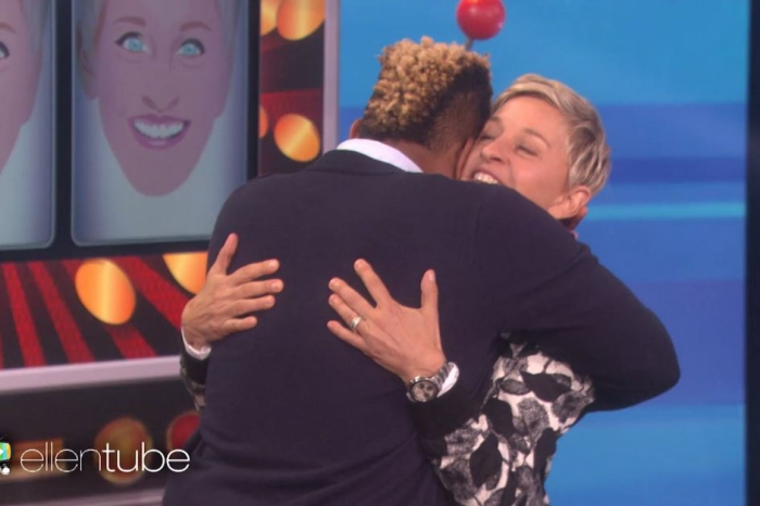 Ellen DeGeneres, Will Ferrell and Amy Poehler surprise a grad student with a prize he really, really needed