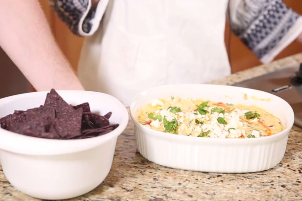 Why wait for Cinco de Mayo? This hot and spicy Mexican corn dip is perfect for any celebration