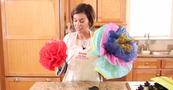 Her cheerful fiesta flowers will spruce up any special event
