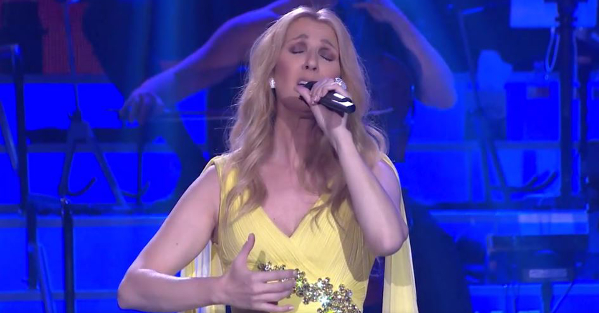 "Flashback: Céline Dion Sings 1st Ever Live Performance of the New ""Beauty and the Beast"" Song"