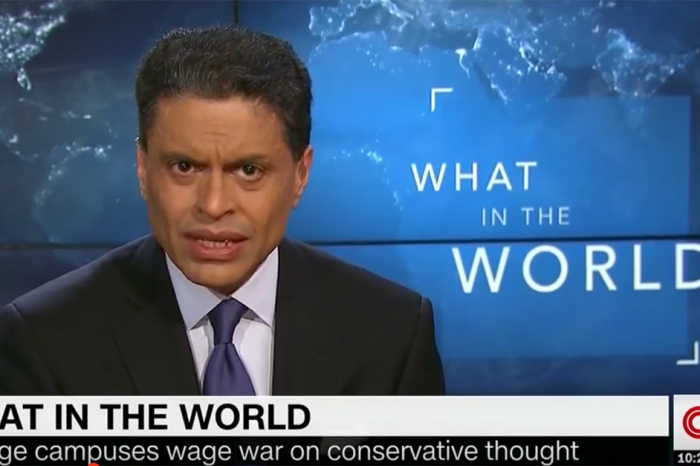 CNN's Fareed Zakaria attacks an unexpected group for their intolerance toward conservatives