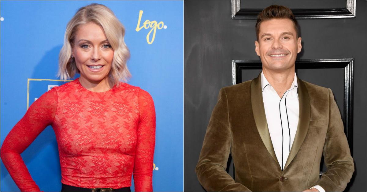 """Kelly Ripa's replacement on """"Live!"""" for one day will make you cringe"""