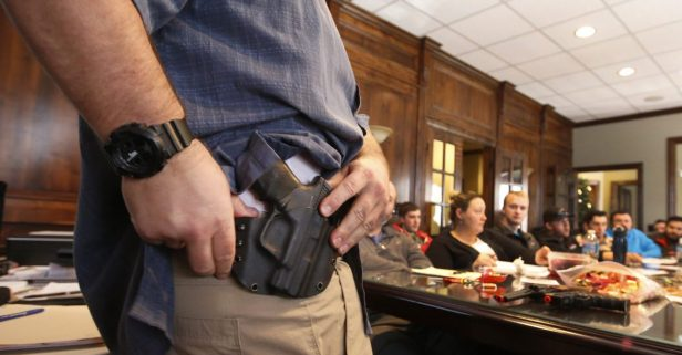 Concealed carry advocacy group describes guns left in UT-Austin bathrooms an 'anomaly,' while students and parents remain concerned