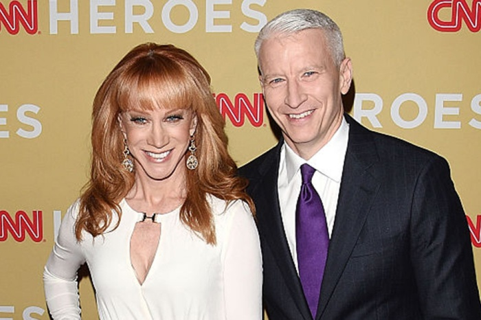 Anderson Cooper shares an update on the status of his friendship with Kathy Griffin following her Trump scandal