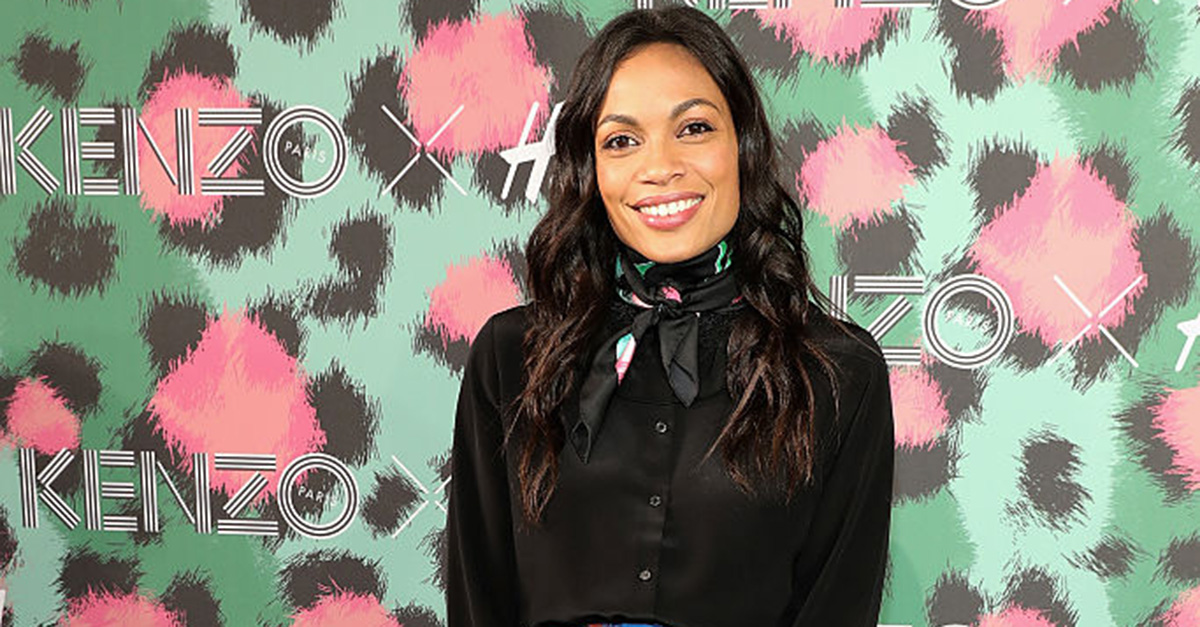 Actress Rosario Dawson reportedly came upon an unthinkable tragedy in her California home