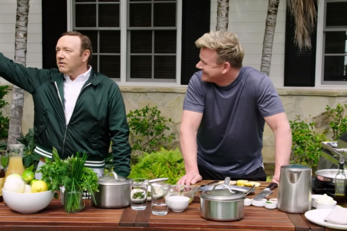 Kevin Spacey and Gordon Ramsay had an epic cuss-word contest — and you'll be shocked by the outcome