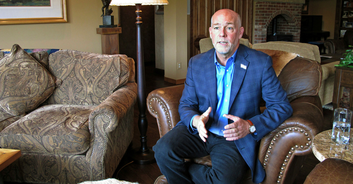 Montana congressional candidate Greg Gianforte allegedly body-slammed a reporter to the ground