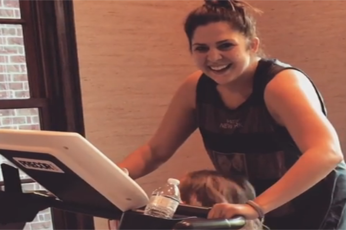 Lady Antebellum's Hillary Scott just found the perfect workout buddy
