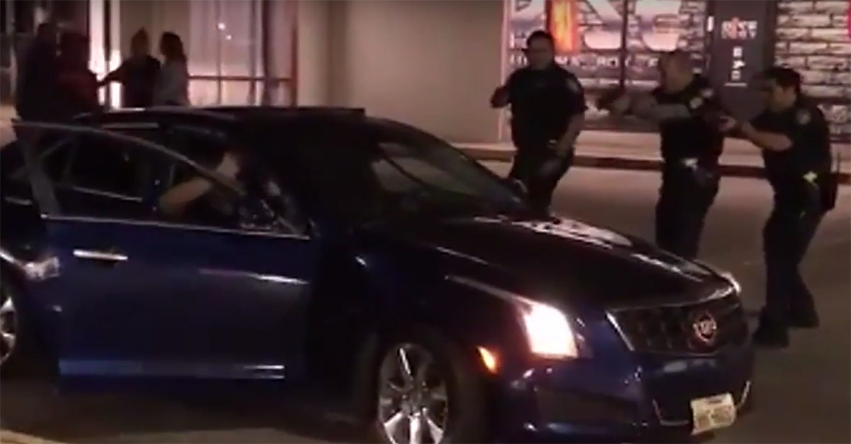 There's a video of last week's off-duty officer-involved shooting
