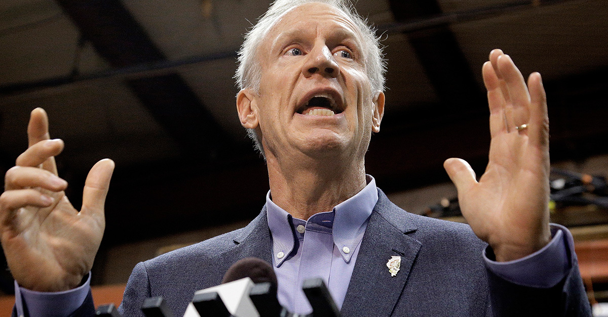 Bruce Rauner responds to Lisa Madigan's decision to sue Trump over DACA