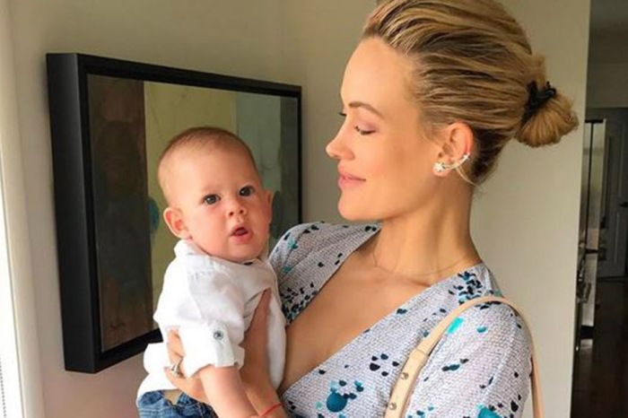 """New mom Peta Murgatroyd shares the """"cheeky"""" thing her 7-month-old Shai just learned how to do"""