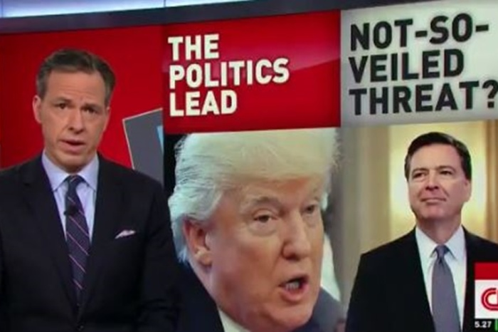 Jake Tapper questions how Republicans would have reacted if a Democrat had fired the director of the FBI