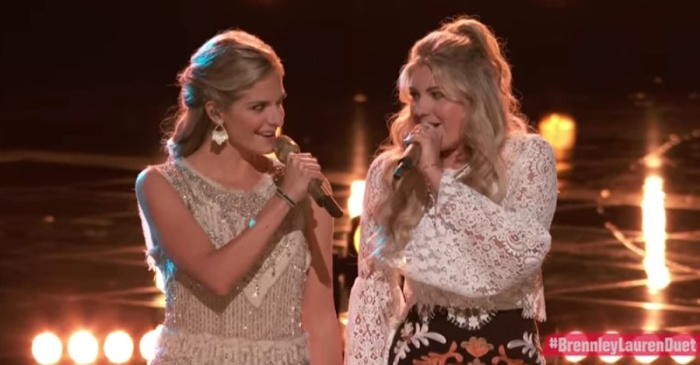 """Two blonde beauties on """"The Voice"""" turned heads with this famous country duet"""